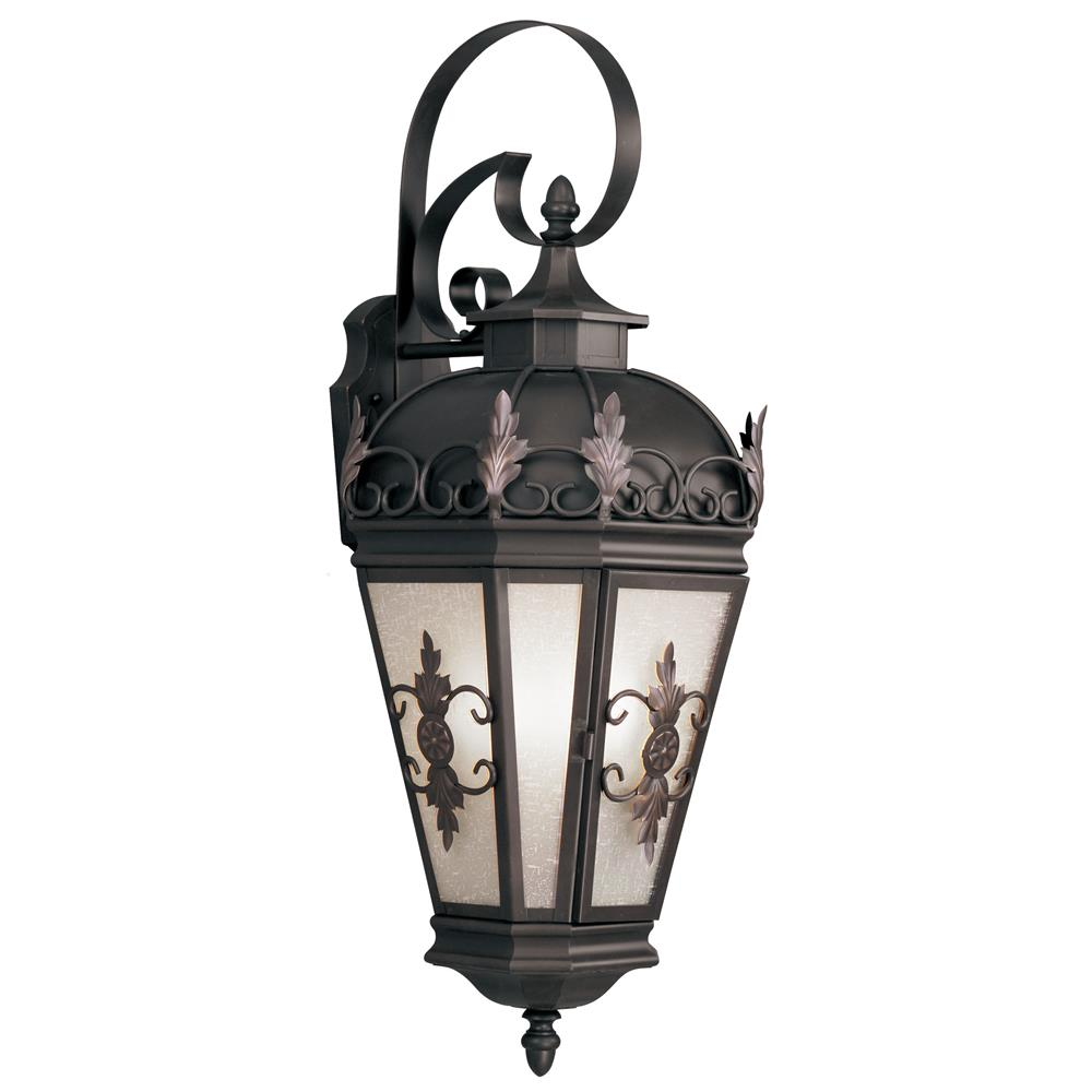 Livex Lighting 2196-07 Berkshire Outdoor Wall Lantern in Bronze